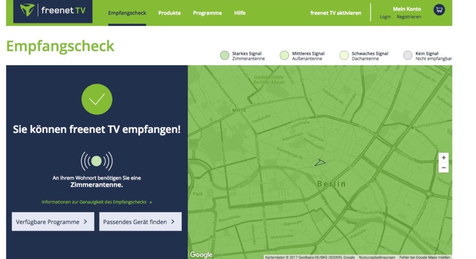 Freenet TV kostenlos testen: Empfang und Freischaltung